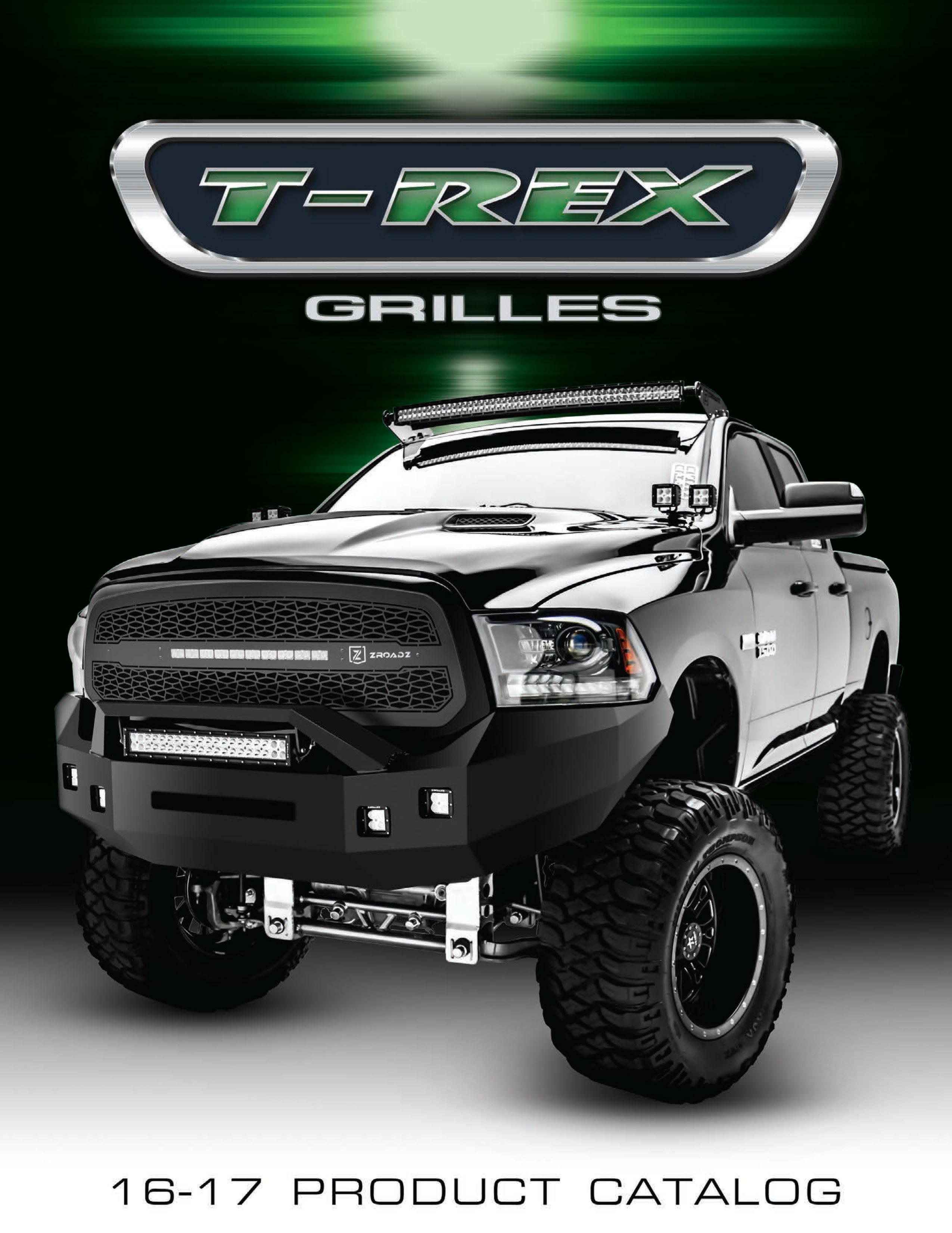 T-REX Catalog 2017