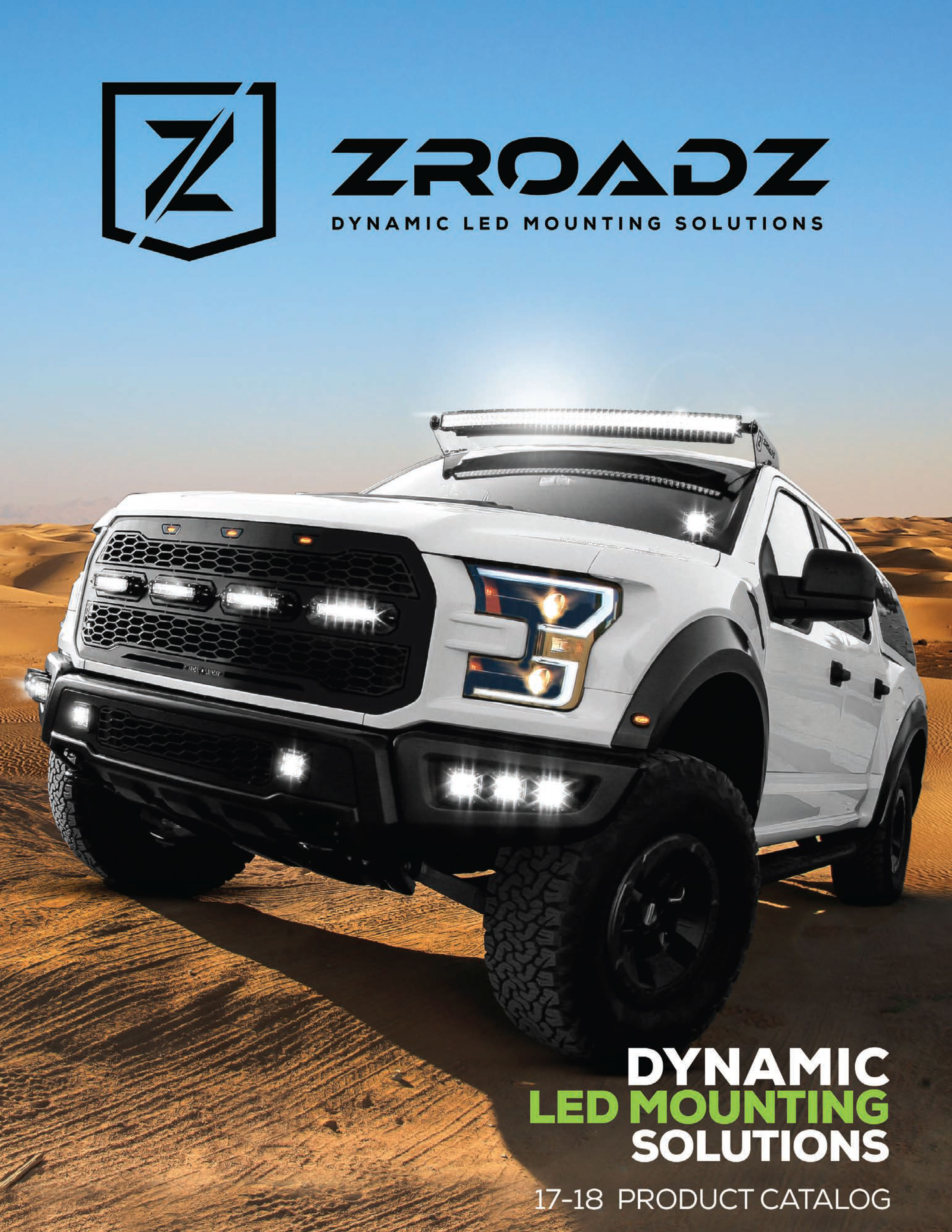 2017-2018 ZROADZ Dynamic LED Mounting Solutions Product Catalog