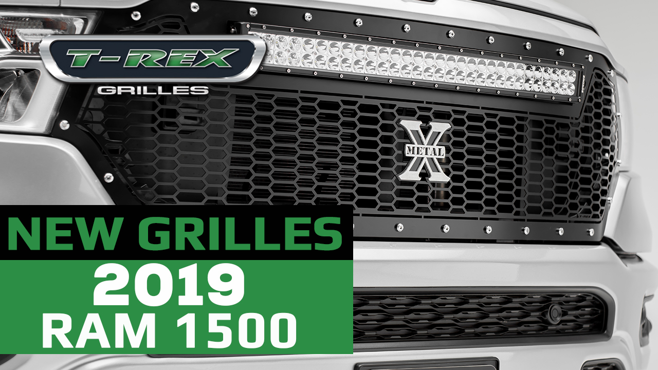 T-REX Truck Products Introduces 2019 RAM 1500 - Grille