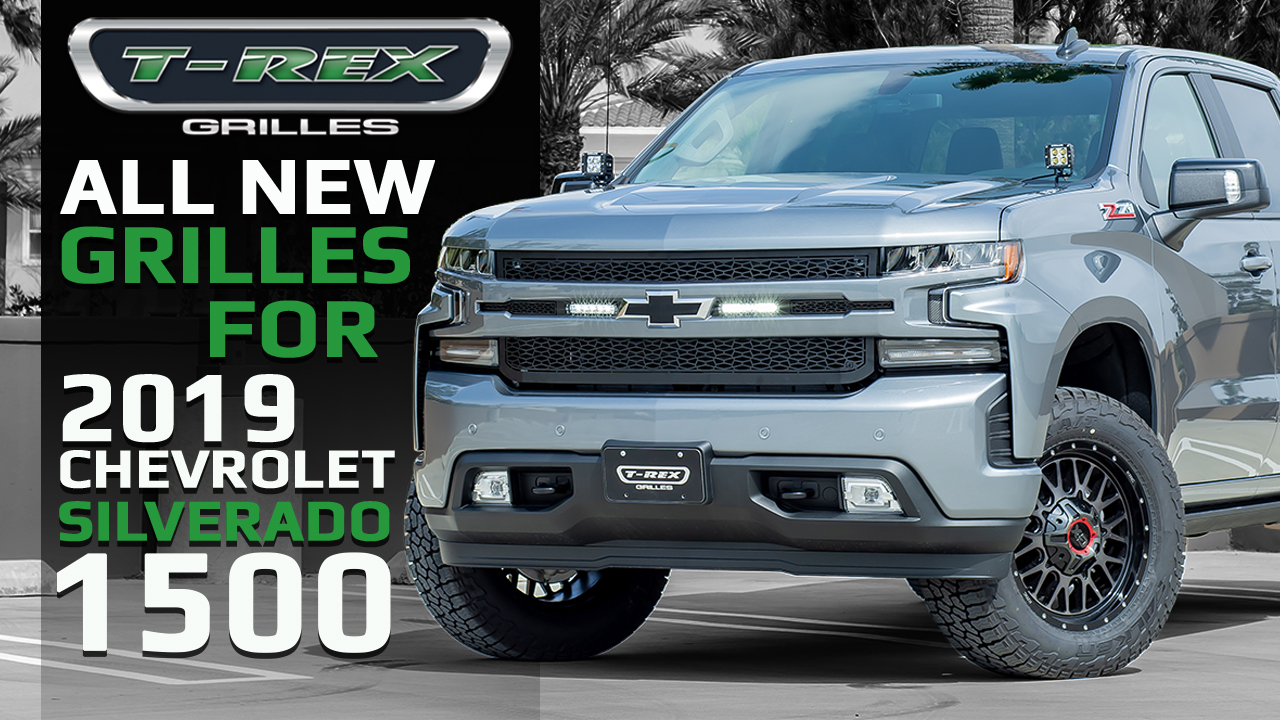 2019 Chevrolet Silverado 1500 Grilles Video