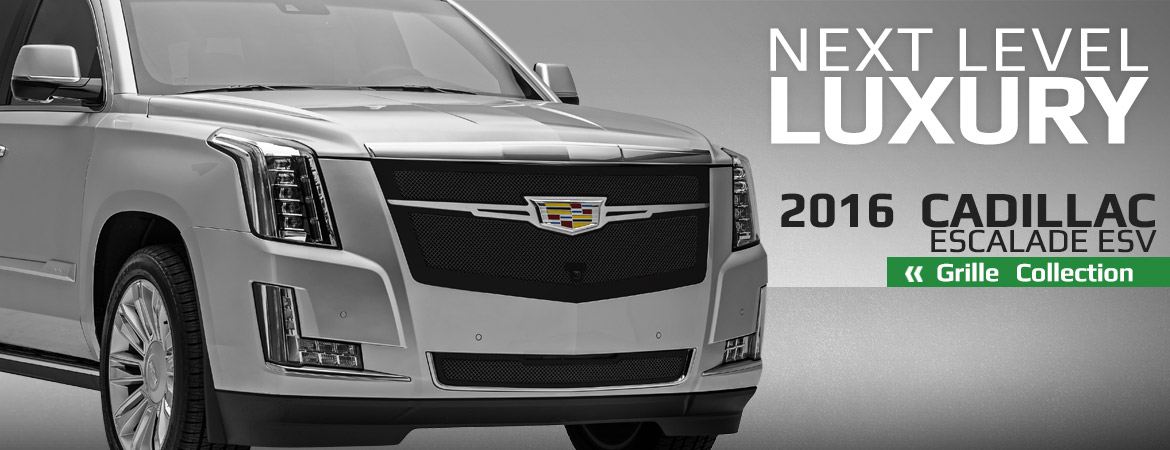 Luxurious New Grille Options for the Cadillac Escalade From T-Rex
