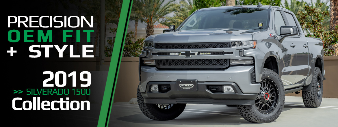 2019 Chevrolet Silverado 1500 Grille Collection