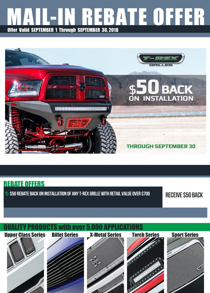 September rebate form