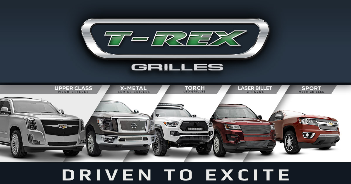 T-REX Grilles - American Made Grilles for over 20 years