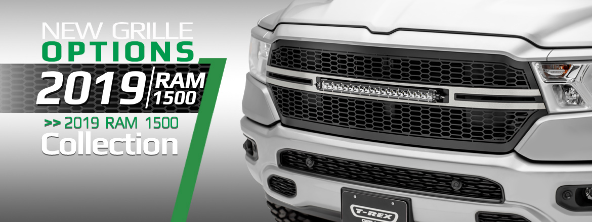 t rex truck products introduces 2019 ram 1500 grille collection 2019 ram 1500 grille collection