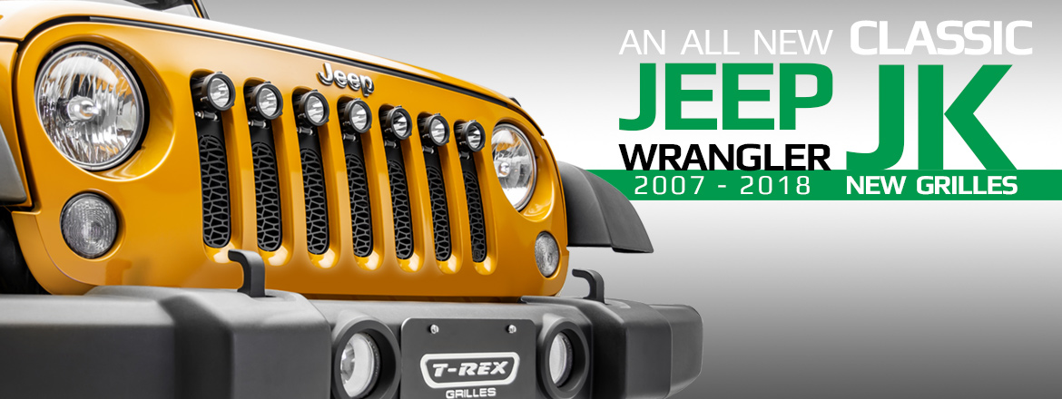 Jeep Wrangler JK Grille Collection