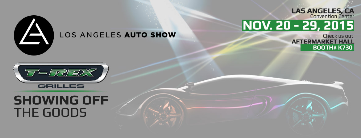 TRex Truck Products On Display At LA Auto Show - Car show display accessories