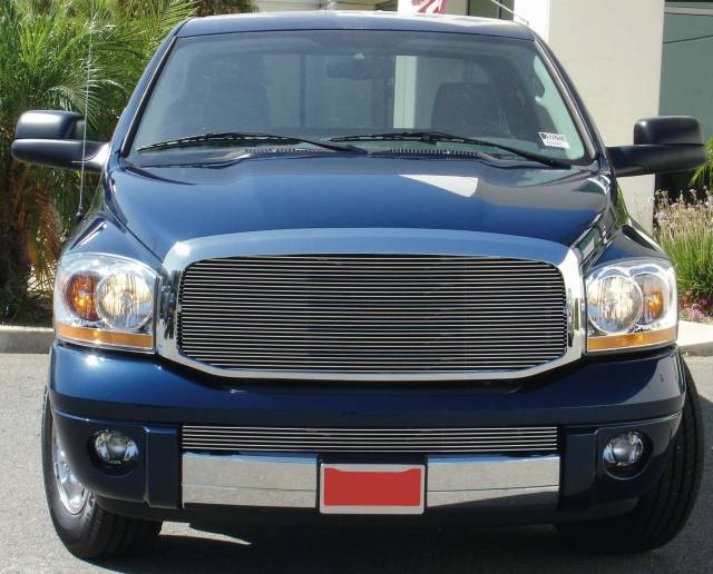 Dodge Ram PU Billet Grille Insert - Custom 1 Pc Full ...