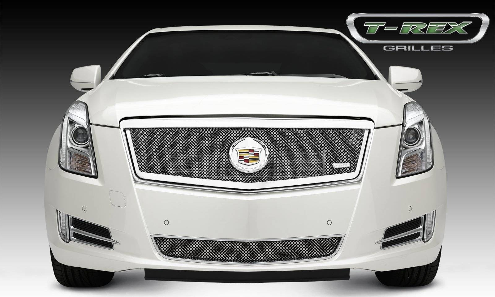 cadillac xts upper class formed mesh grille main full. Black Bedroom Furniture Sets. Home Design Ideas