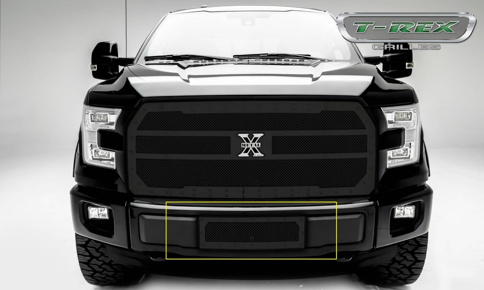 Ford f150 x metal v8 bumper grille