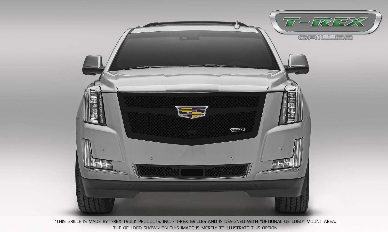 Luxurious New Grille Options For The Cadillac Escalade From T Rex
