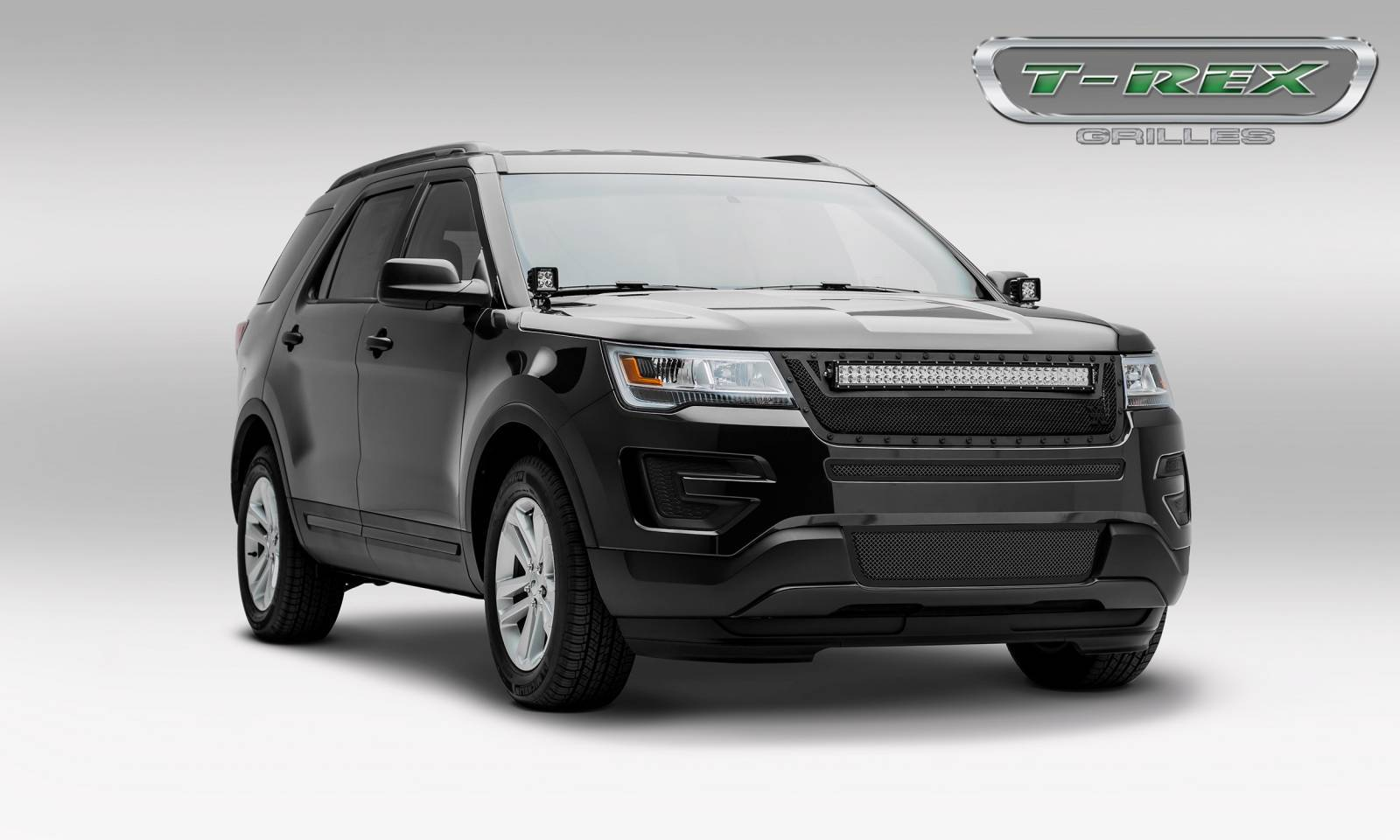 Torch series grille options for the 2016 ford explorer