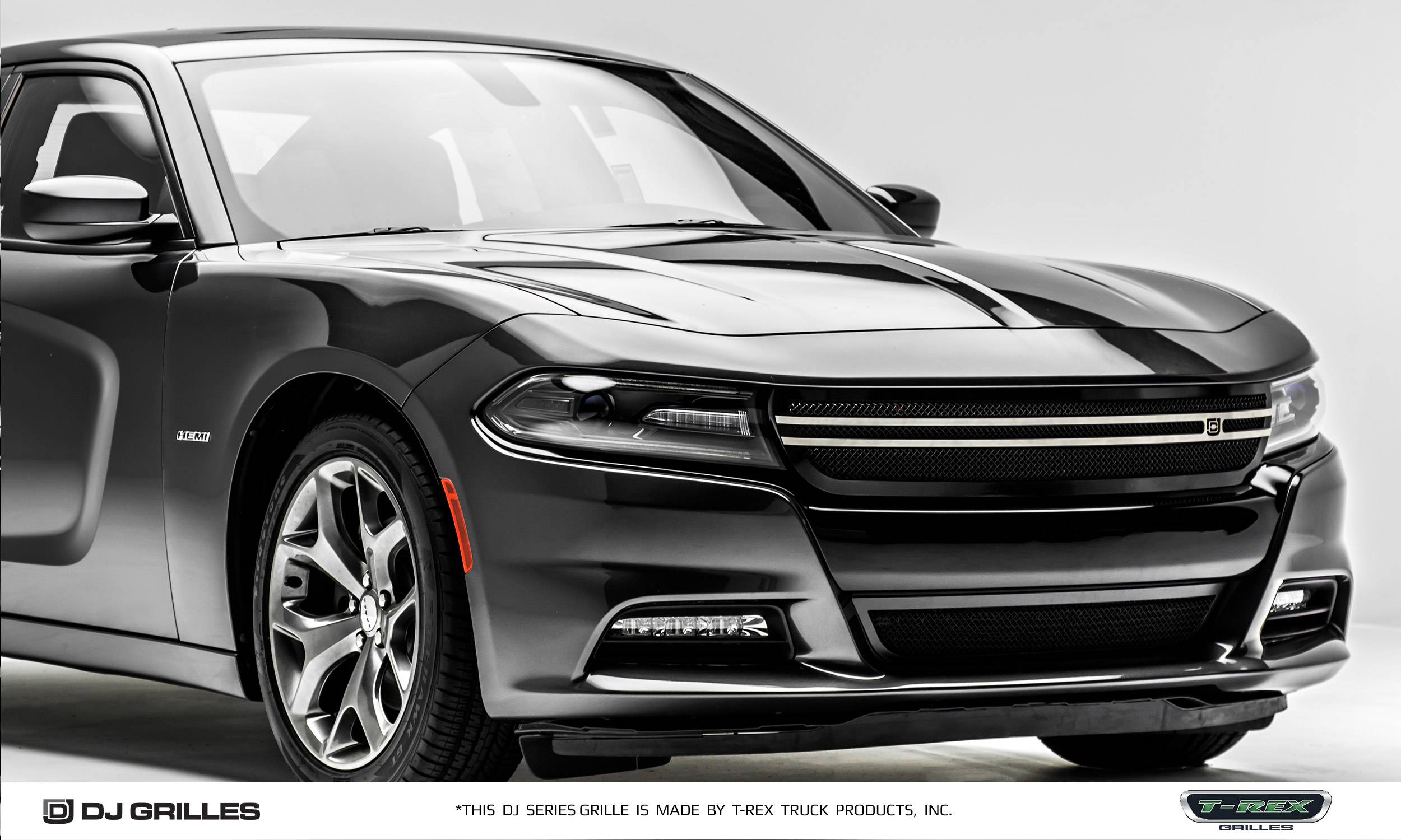 Dodge Charger - DJ Series Urban - Main Grille - Overlay ...