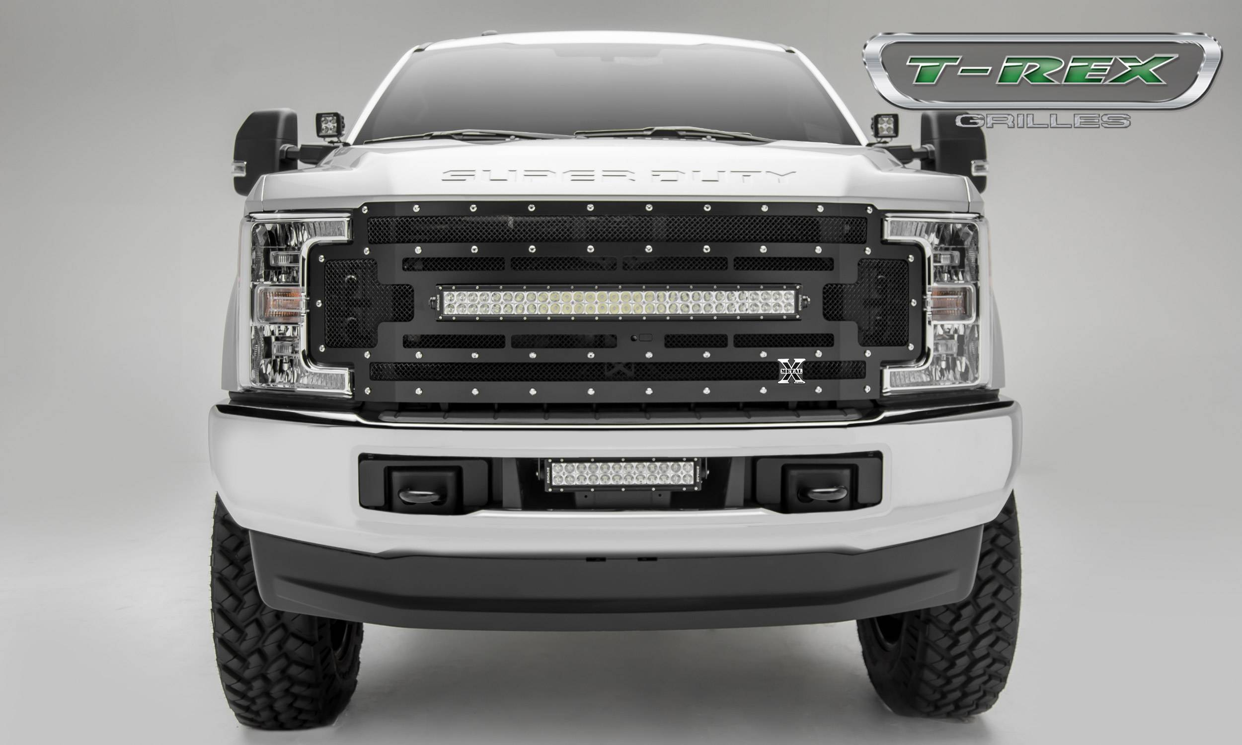 Torch series grille options for the 2017 ford super duty
