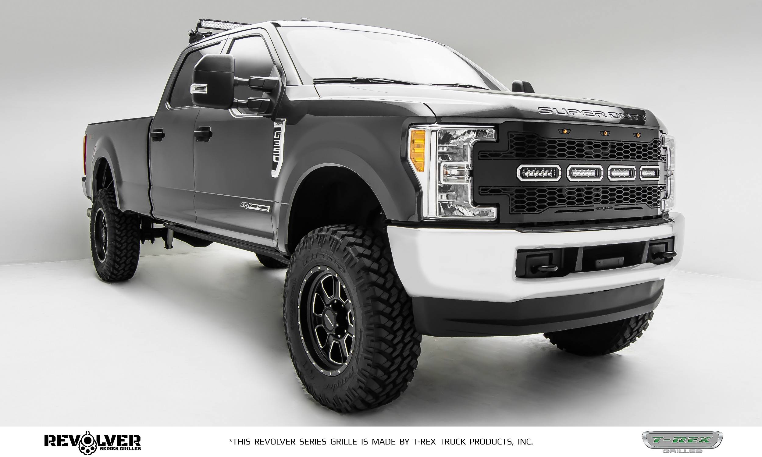 Revolver series grille options for the 2017 ford super duty
