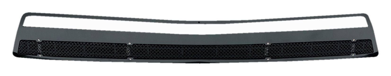 T-REX Chevrolet Camaro V6 Upper Class, Formed Mesh, Bumper Grille, Overlay, 1 Pc, Black Powdercoated Mild Steel - Pt # 52031