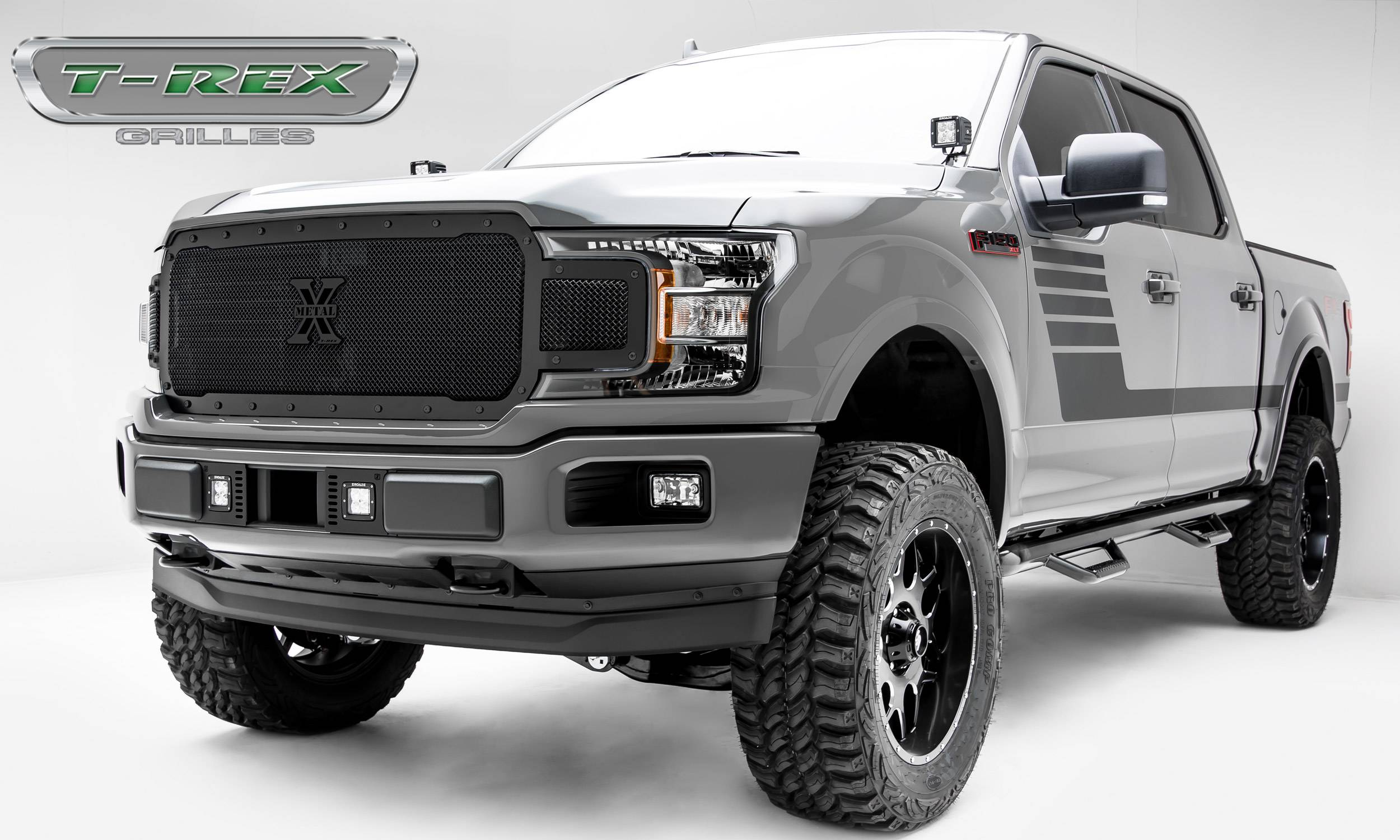 T-REX Ford F-150 - X-Metal STEALTH Series - Main Grille ...