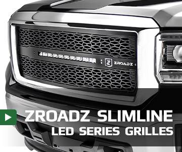 ZROADZ Series LED Light Grilles