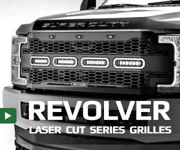 Revolver Series Laser Cut Grilles