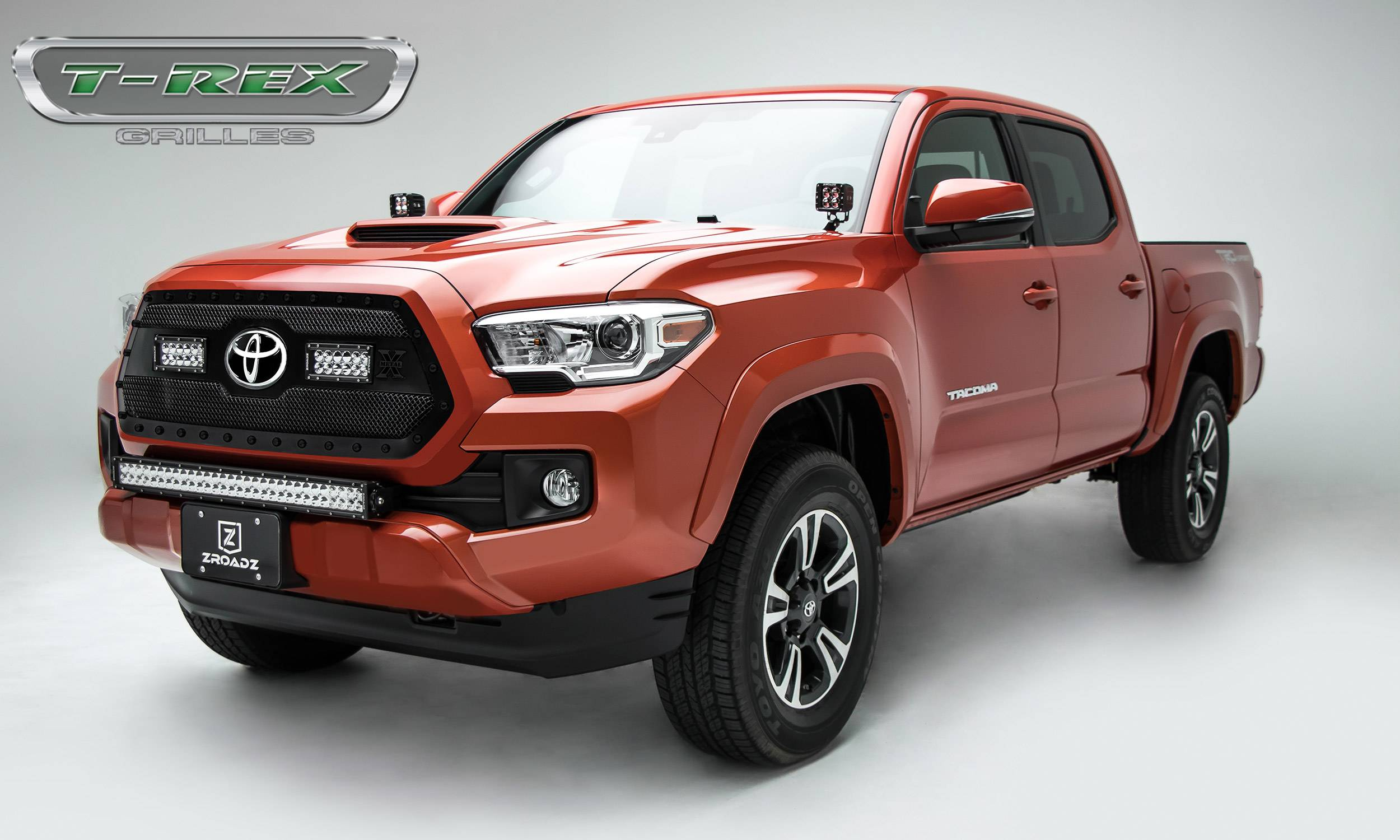 2018 2019 Toyota Tacoma Torch Series Main Grille Insert W