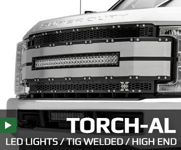 LED Grilles - TORCH-AL Series Grilles