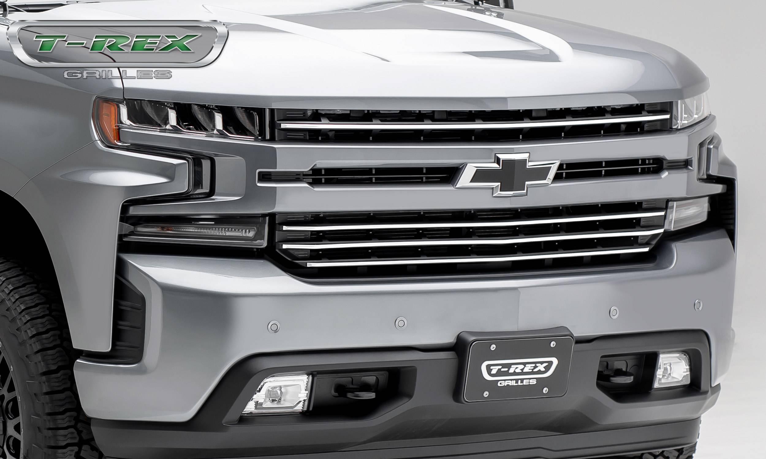 Chevrolet Silverado 1500 2019 Billet Grille, Horizontal ...