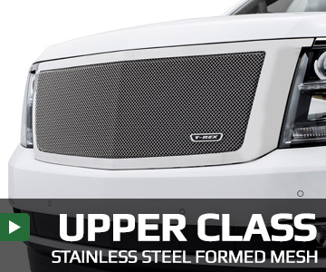 T-Rex Grilles 51526 Upper Class Series Mesh Grille Fits 10-12 Taurus