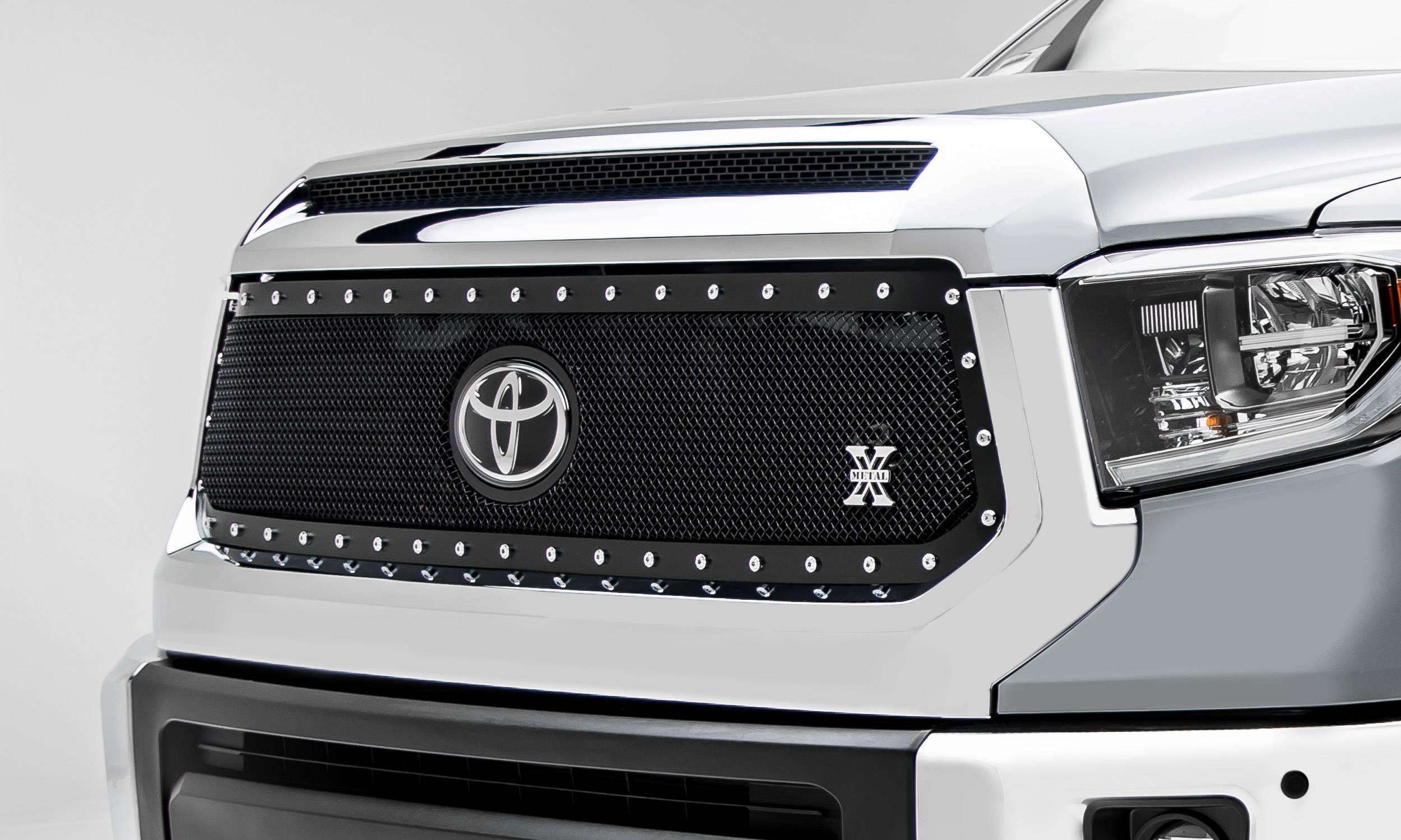 APS T86755H Black Powder Coated Grille Replacement for select Toyota Tundra Models