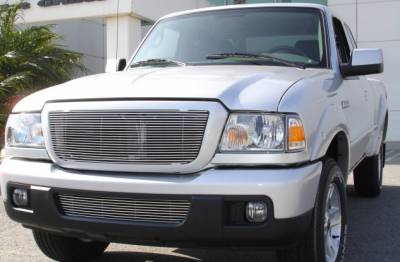 T-REX Ford Ranger XLT / FX4 Billet Grille Insert 21 Bars Requires cutting factory bars - Pt # 20661