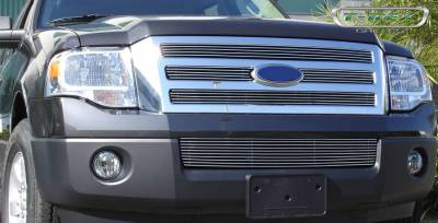Ford Expedition Billet Grille Bolt On Easy Install - 4 Pc Design 4 Bars each - Pt # 21594