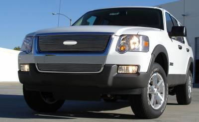 T-REX Grilles - 2006-2010 Explorer XLT, Limited Billet Grille, Polished, 1 Pc, Overlay - PN #21659