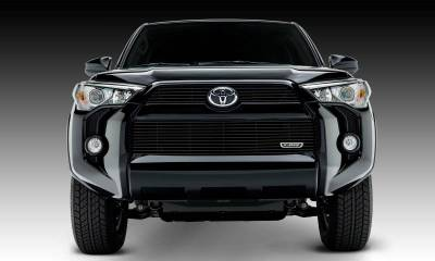Toyota 4 Runner Billet Grille, Main & Bumper, Overlay, 3 Pc's, Black Powdercoated Aluminum Bars, Fits Trail & SR5 but not Limited - Pt # 21949B