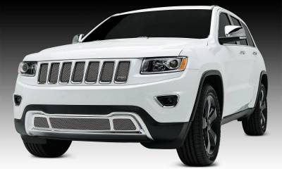 T-REX Jeep Grand Cherokee Sport Series Formed Mesh Grille - Stainless Steel - Triple Chrome Plated - 1Pc - Pt # 44488