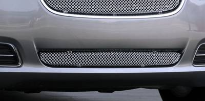Chrysler 300 All Sport Series Formed Mesh Bumper Grille - Stainless Steel - Triple Chrome Plated - Installs into center bumper opening - Pt # 45433
