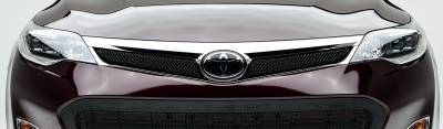 T-REX Grilles - 2013-2015 Toyota Avalon Sport Grille, Black, 2 Pc, Overlay - PN #46910