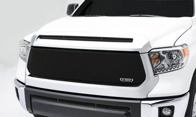 Toyota Tundra   Sport Series, Formed Mesh, Main Grille, Replacement, 1 Pc, Black Powdercoated Mild Steel - Pt # 46965