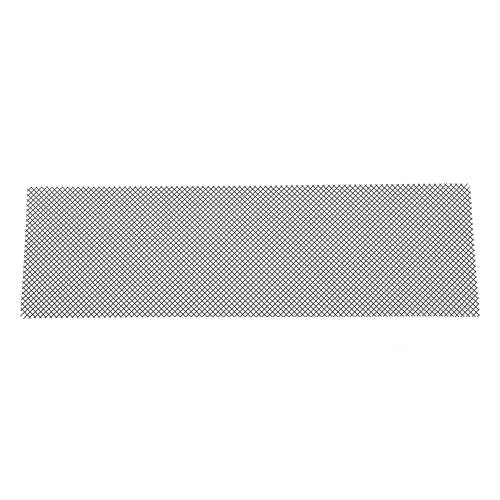 "T-REX Grilles - ALL Most Vehicles Stainless Steel Wire Mesh Flat - Black - 12""x40""  - Mesh Size = 3 Squares per Inch - Pt # 51009"