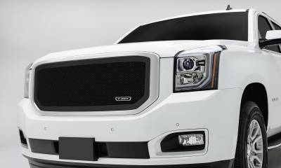 T-REX GMC YUKON Upper Class Mesh Grille - All Black - Pt # 51169