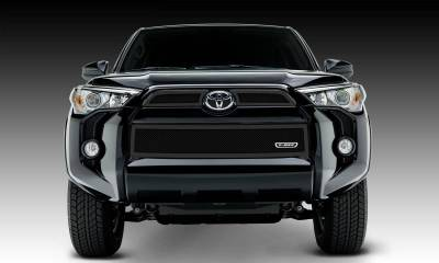 Toyota 4 Runner Upper Class, Formed Mesh Grille, Main & Bumper Kit, Overlay, 3 Pc's, Black Powdercoated Mild Steel - Pt # 51949