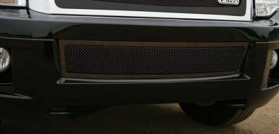 Ford Expedition Upper Class Bumper Mesh Grille - All Black - Pt # 52594