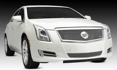Cadillac XTS Upper Class, Formed Mesh Grille, Main, Full Opening, Overlay, 1 Pc, Polished Stainless Steel Will not fit Platinum Edition. - Pt # 54173