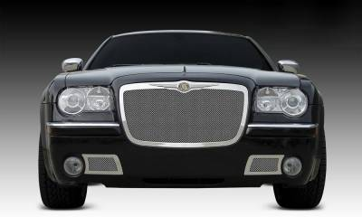 T-REX Grilles - Chrysler 300 All Upper Class Polished Stainless Mesh Grille - Pt # 54471