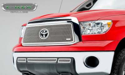 T-REX Grilles - 2010-2013 Tundra Upper Class Series Main Grille, Polished, 1 Pc, Overlay - PN #54961