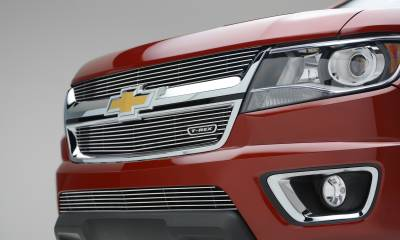 T-REX Chevrolet Colorado - Billet Series - Main Grille - Overlay with Polished Aluminum Face - Pt # 21267
