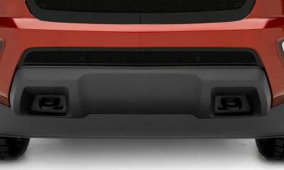 T-REX Chevrolet Colorado - Upper Class Series - Overlay - Bumper Grille with Black Powdercoat Finish - Pt # 52267