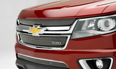 Chevrolet Colorado - Sport Series - Main Grille Mesh Overlay  with Chrome Plated Finish - Pt # 44267