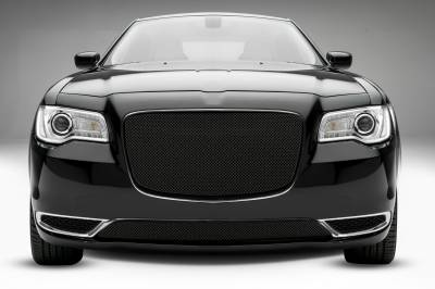 Chrysler 300 - Sport Series - Main Grille Overlay  with Black Powder Coat Finish - Pt # 46436