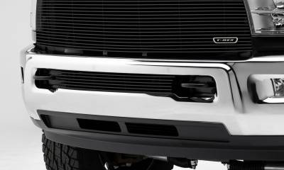 T-REX Dodge Ram PU 2500 / 3500 Billet Grille, Bumper, Insert, 1 Pc, Polished Aluminum Bars - Pt # 25452B