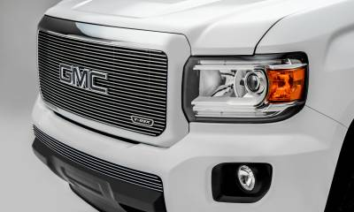 T-REX Grilles - 2015-2019 GMC Canyon Billet Grille, Polished, 1 Pc, Insert - PN #20371