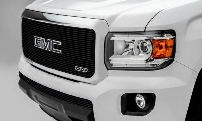 T-REX Grilles - 2015-2019 GMC Canyon Billet Grille, Black, 1 Pc, Insert - PN #20371B